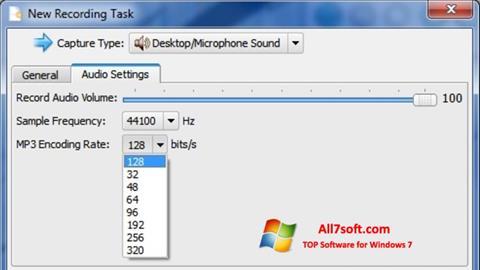 Снимак заслона SMRecorder Windows 7
