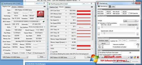 Снимак заслона ATI Tray Tools Windows 7