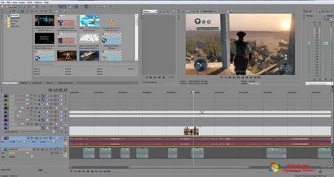 Снимак заслона Sony Vegas Pro Windows 7