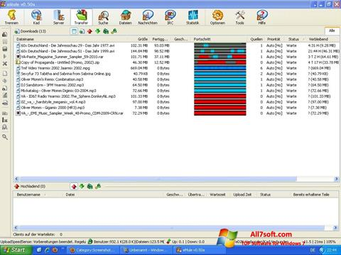 Снимак заслона eMule Windows 7