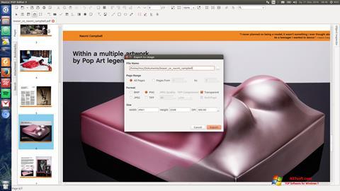 Снимак заслона Master PDF Editor Windows 7