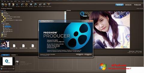 Снимак заслона ProShow Producer Windows 7