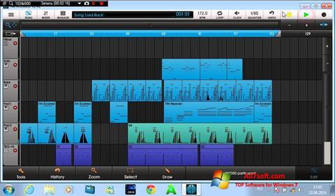 Снимак заслона NanoStudio Windows 7