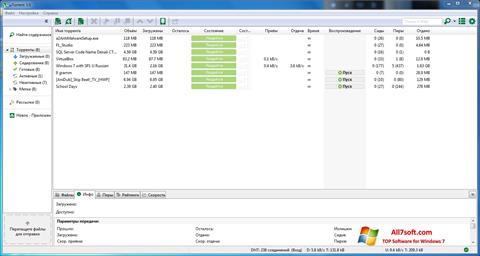 Снимак заслона uTorrent Windows 7