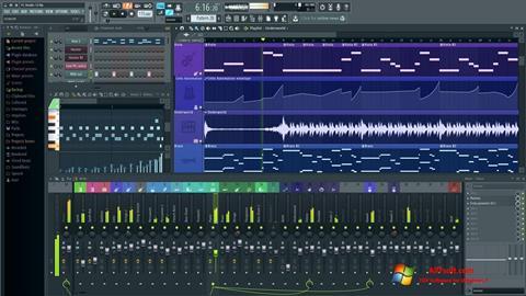 Снимак заслона FL Studio Windows 7